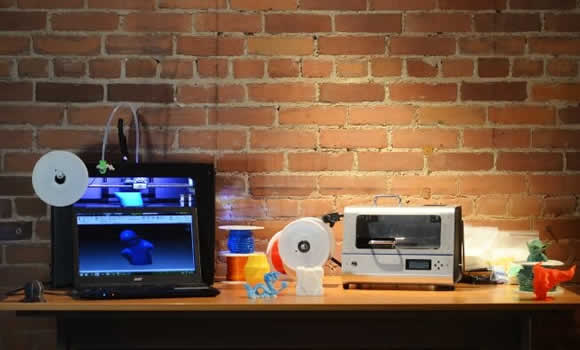 Converters that produce 3D printer raw materials