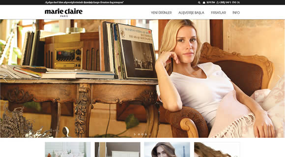 Marie Claire Shop Paris
